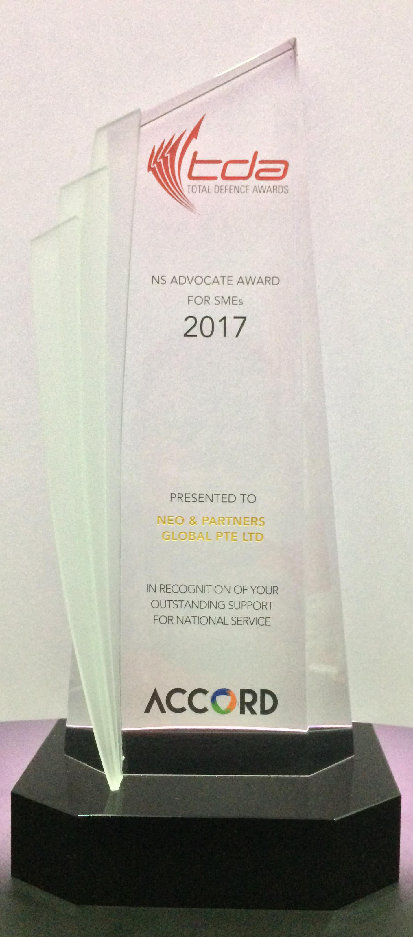 NS Advocate Awards (SMEs)